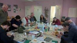 men in sheds hub with ladies