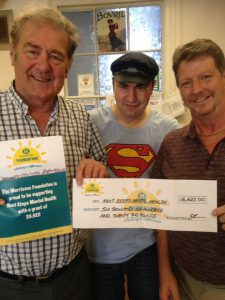 Fantastic successful Grant from Morrison s for our Men In Sheds!