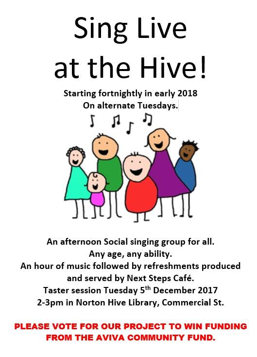 Sing Live at the Hive