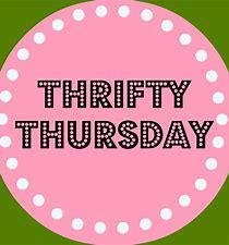 Thrifty Thursdays are Back!